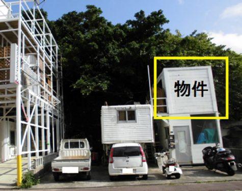宜野湾 真志喜 コンテナ倉庫